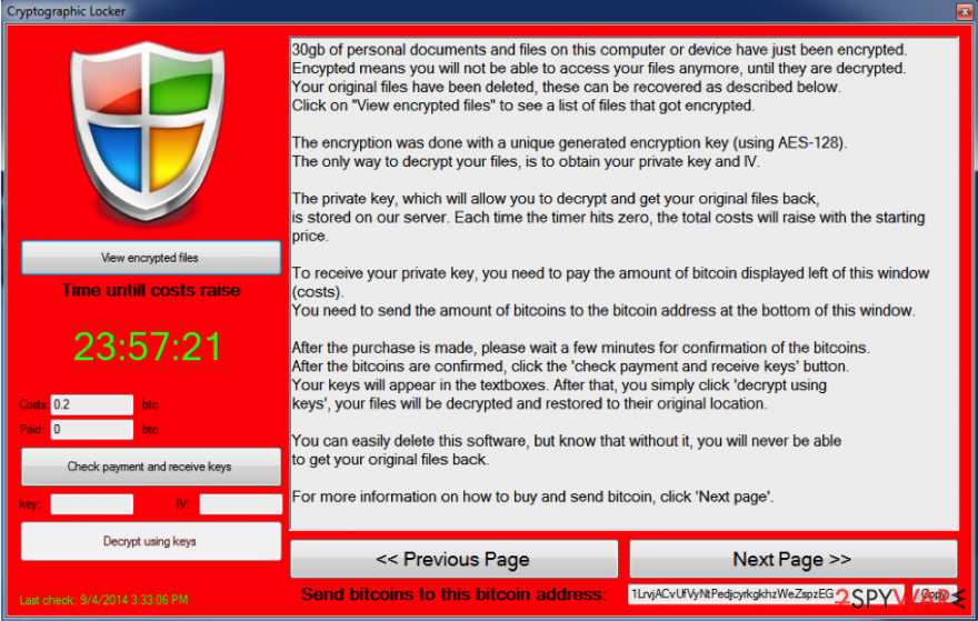 Trojan.LockScreen snapshot