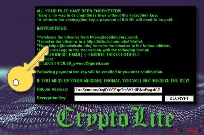 CryptoLite virus
