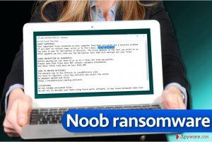 Noob ransomware virus