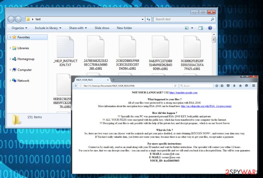CryptoMix ransomware holds personal files hosted