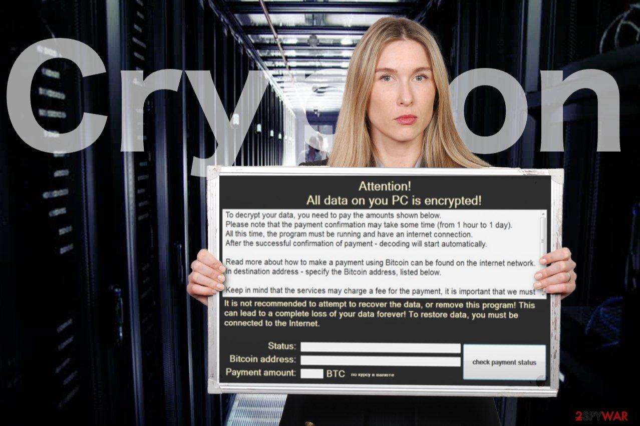 Crypton ransomware virus image