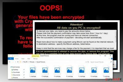 Crytpon virus attack
