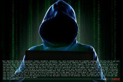 CryptoNar ransomware