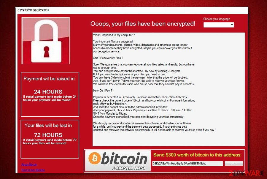 C3YPT3OR ransomware