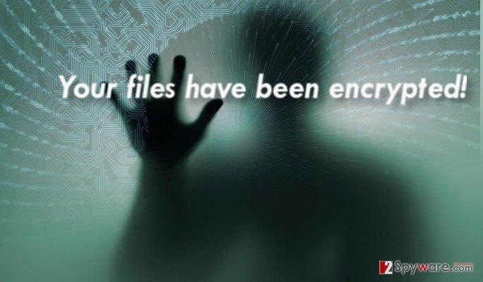 The image of CryptoShadow virus