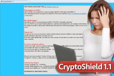 CryptoShield 1.1 ransomware virus