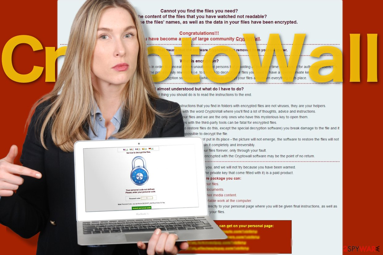 Image of the CryptoWall virus