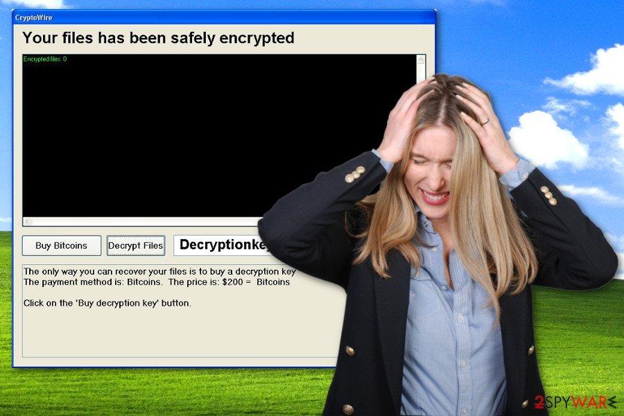 CryptoWire ransomware virus
