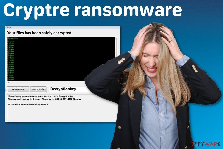 Cryptre ransomware virus