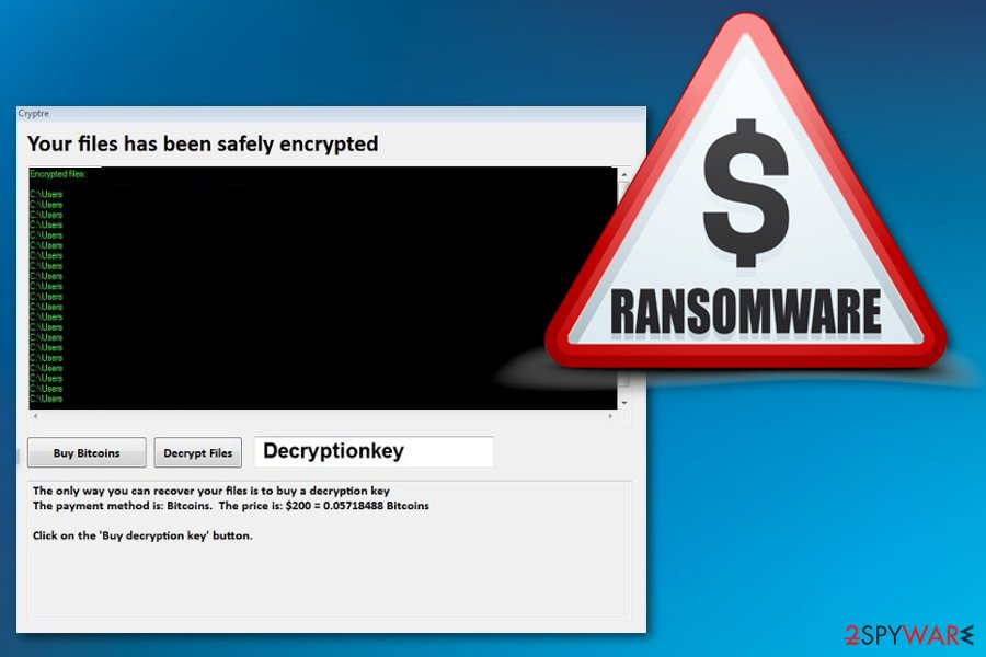 Cryptre ransomware