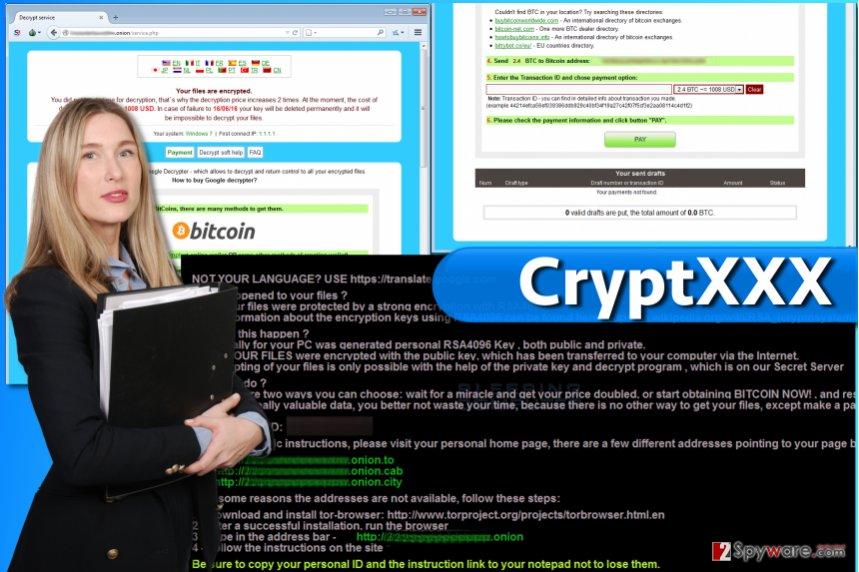 CryptXXX ransomware