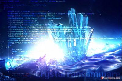Crystal ransomware virus