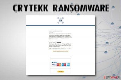 CryTekk ransomware