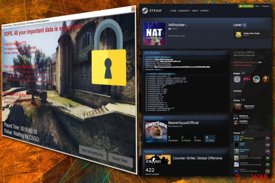 CSGO ransomware