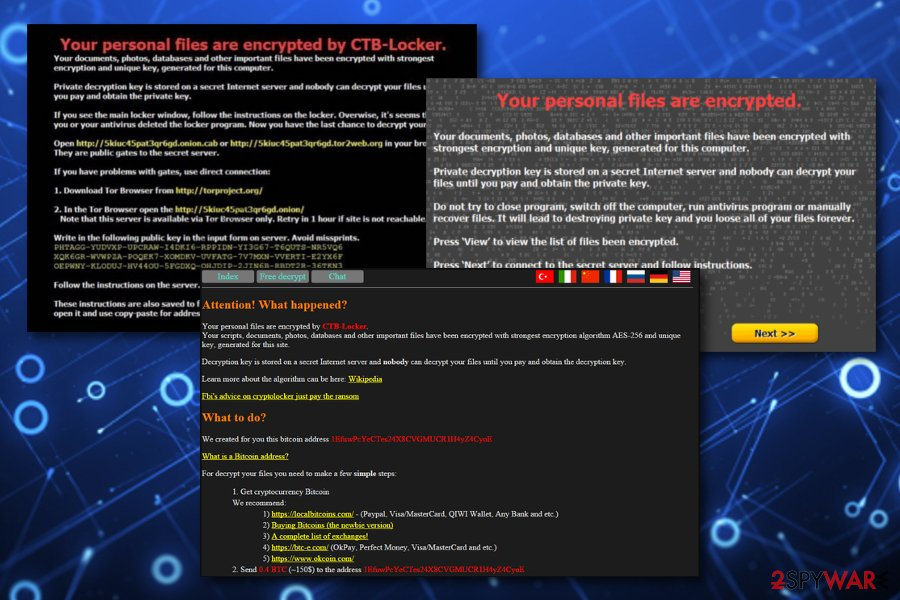 CTB Locker malware