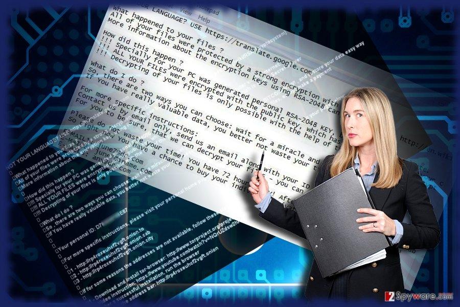 CTF malware example