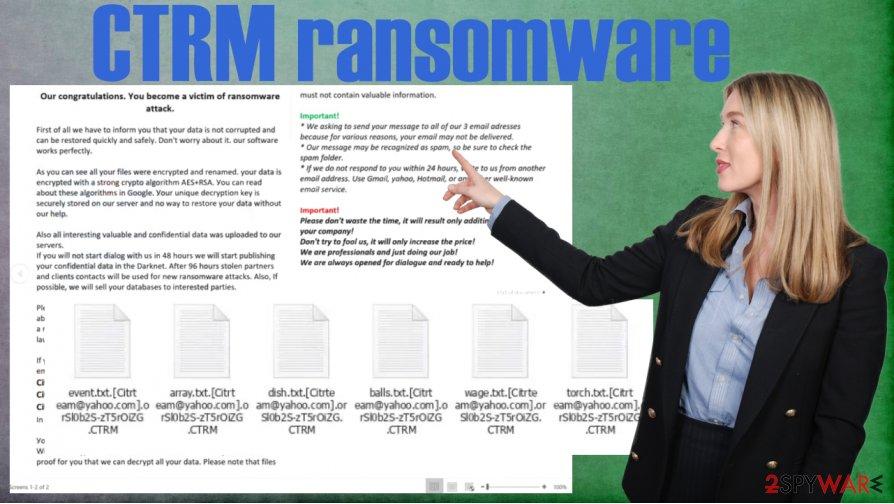 CTRM ransomware virus