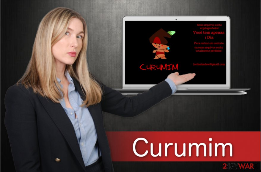 Image of Curumim ransomware