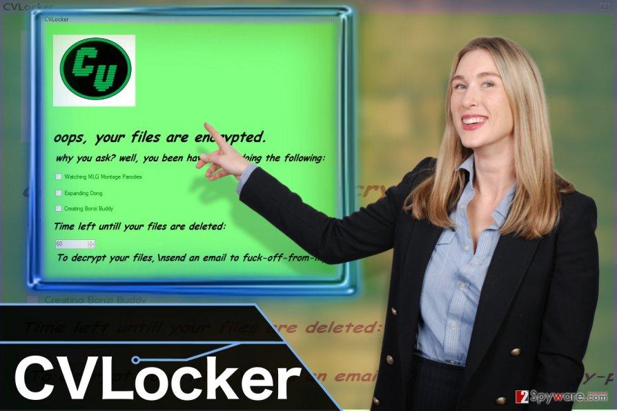 CVLocker ransomware virus