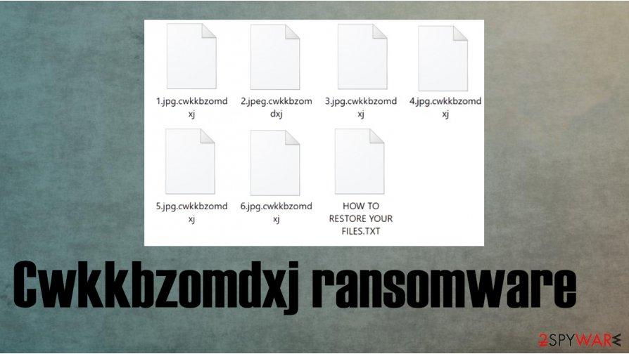 Cwkkbzomdxj ransomware