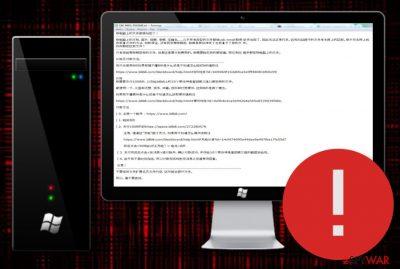 CXK-NMSL ransomware
