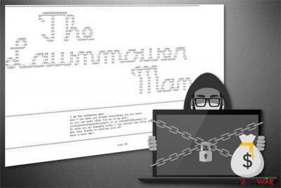 Cybergod ransomware image