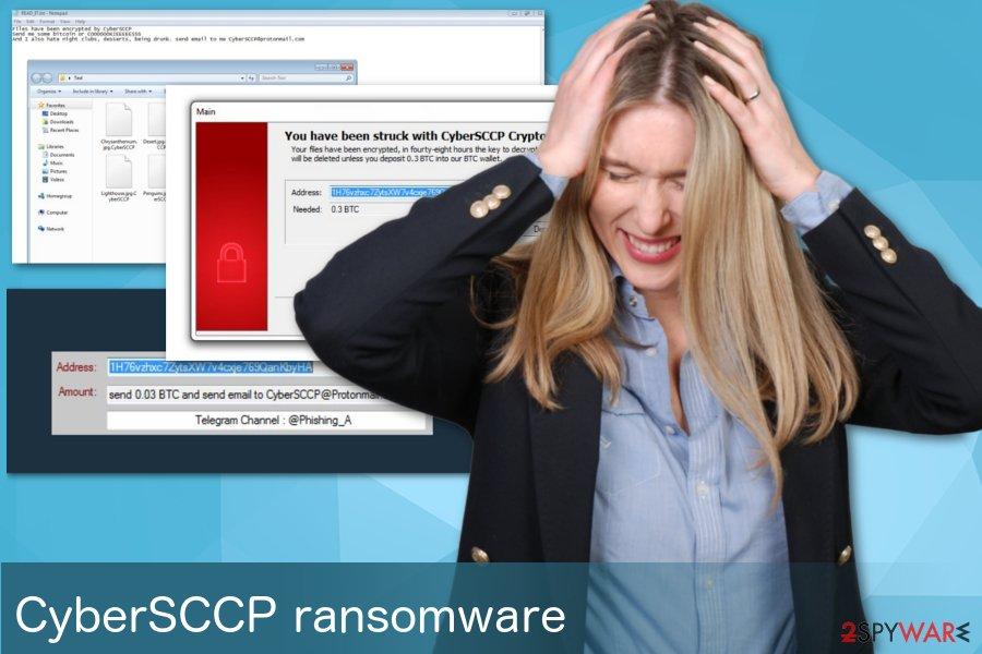 CyberSCCP ransomware virus