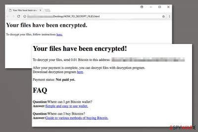 Image of Cypher ransomware