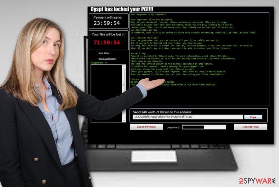 Cyspt ransomware