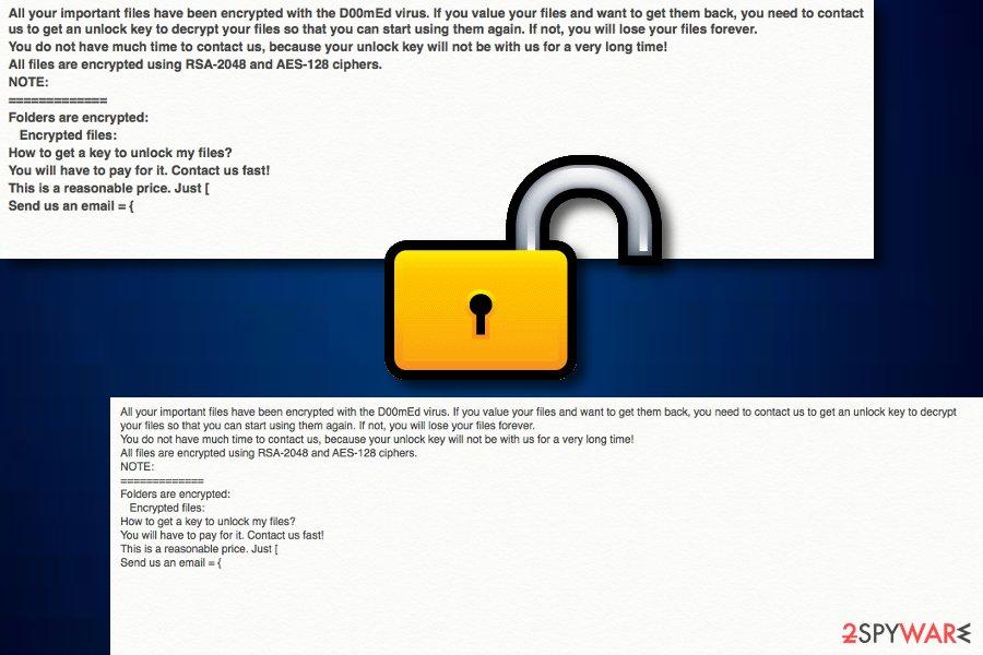 D00mEd ransomware