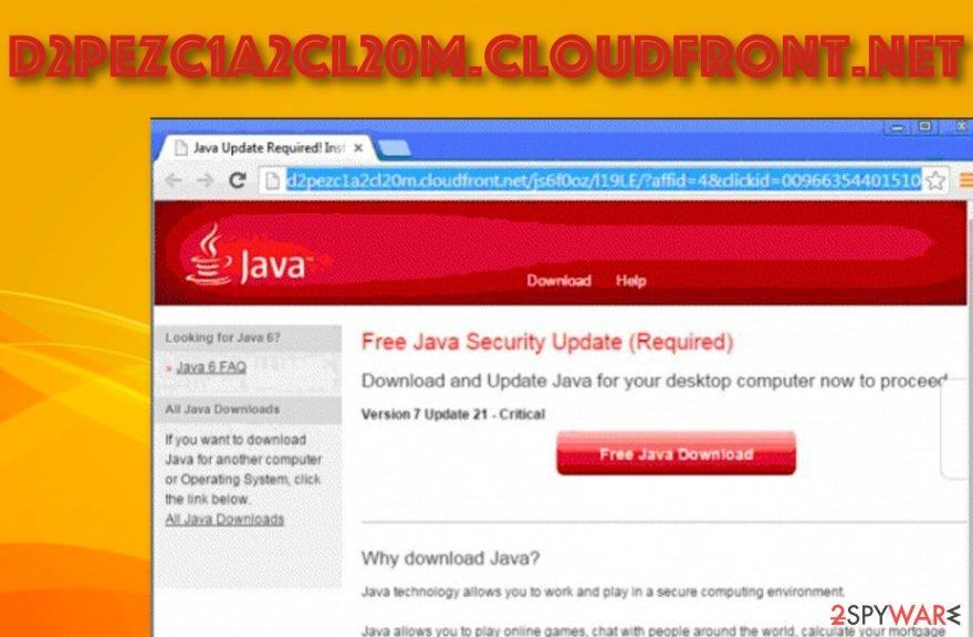 D2pezc1a2cl20m.cloudfront.net adware