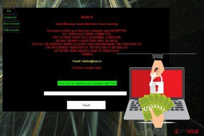 Dablio ransomware
