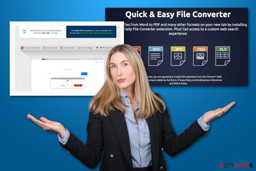 Daily File Converter virus