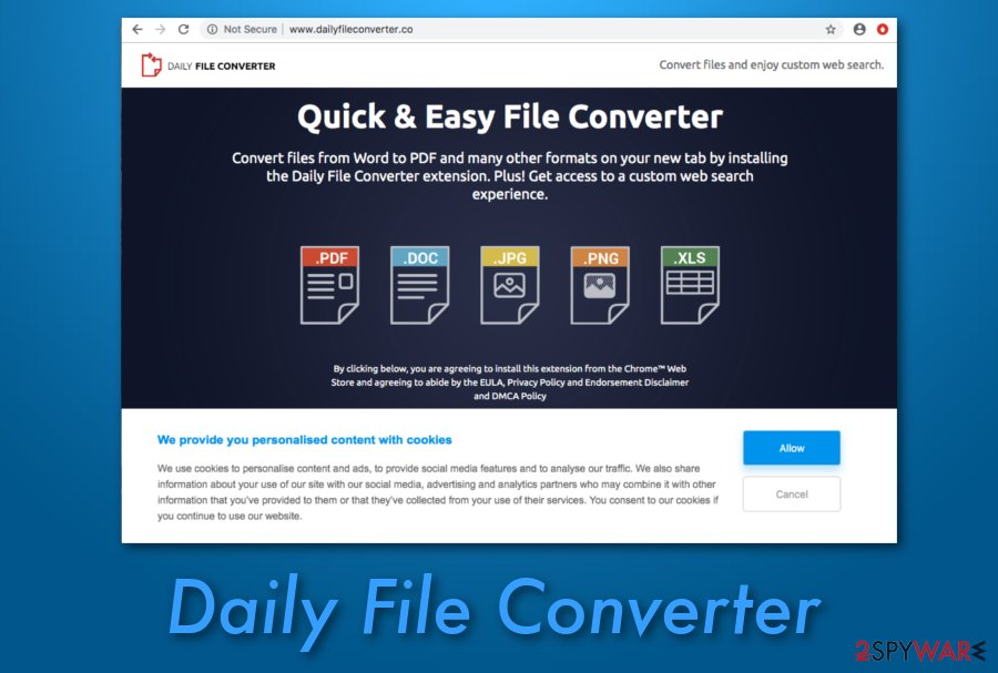 Daily File Converter extension