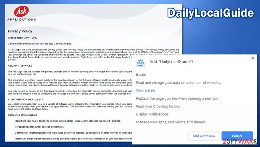 DailyLocalGuide virus