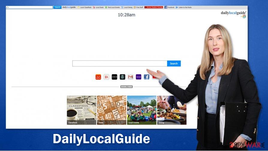 DailyLocalGuide hijack