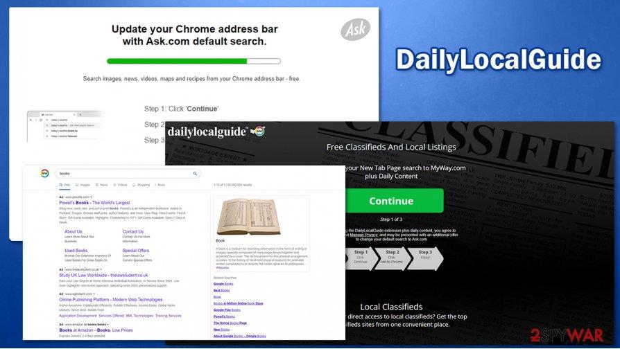 DailyLocalGuide distribution