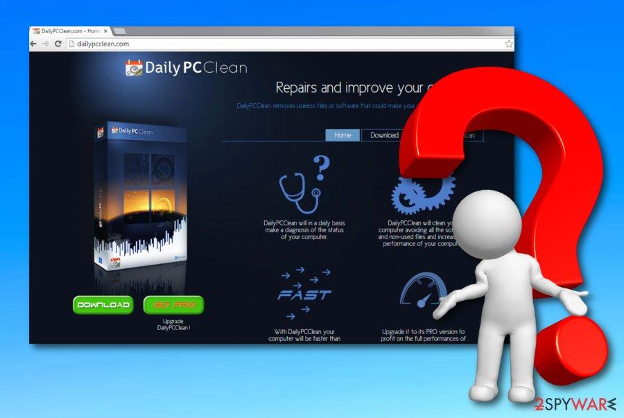 DailyPCClean virus