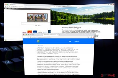 DaleSearch browser hijacker