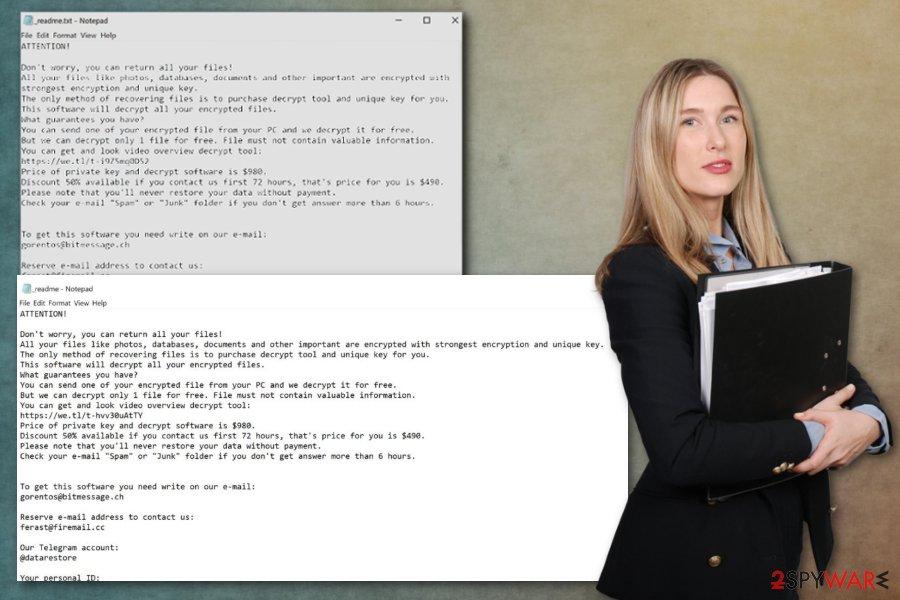 Dalle ransomware virus