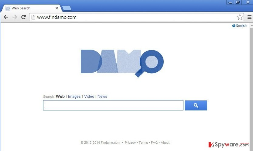 Damo Web Search snapshot