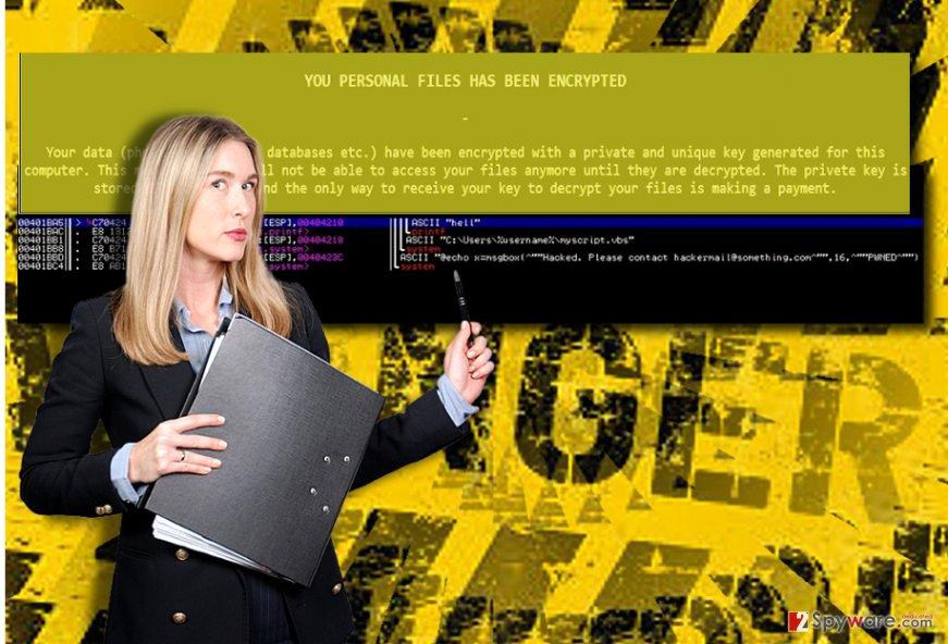The image of Dangerous virus