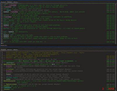 Dark IRC