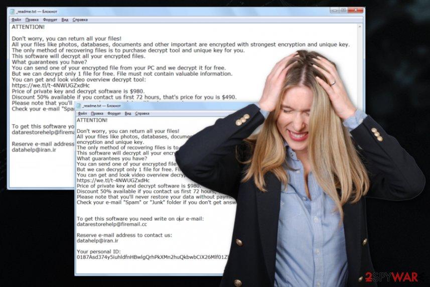 Datarestorehelp@firemail.cc ransomware virus