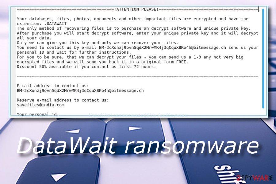 DataWait ransomware virus