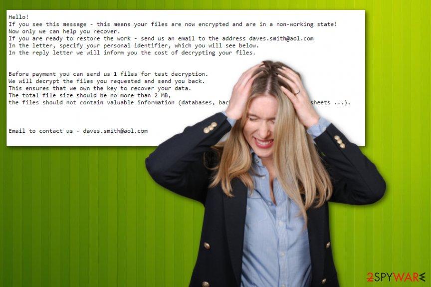 DavesSmith ransomware virus