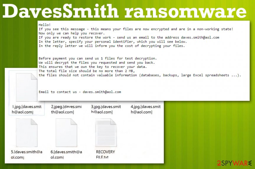 DavesSmith ransomware