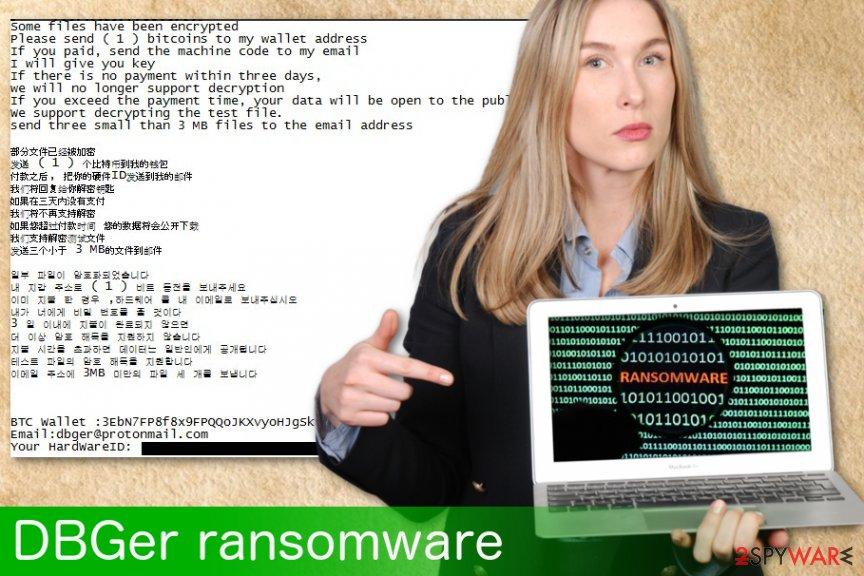 DBGer ransomware virus