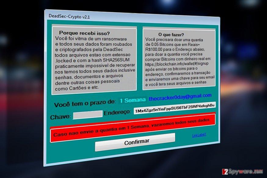 DeadSec-Crypto v2.1 virus