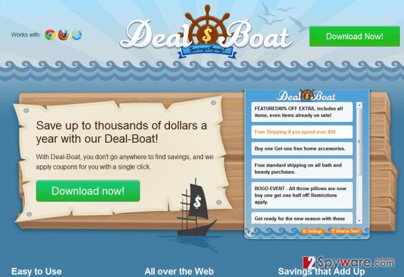 Deal Boat snapshot